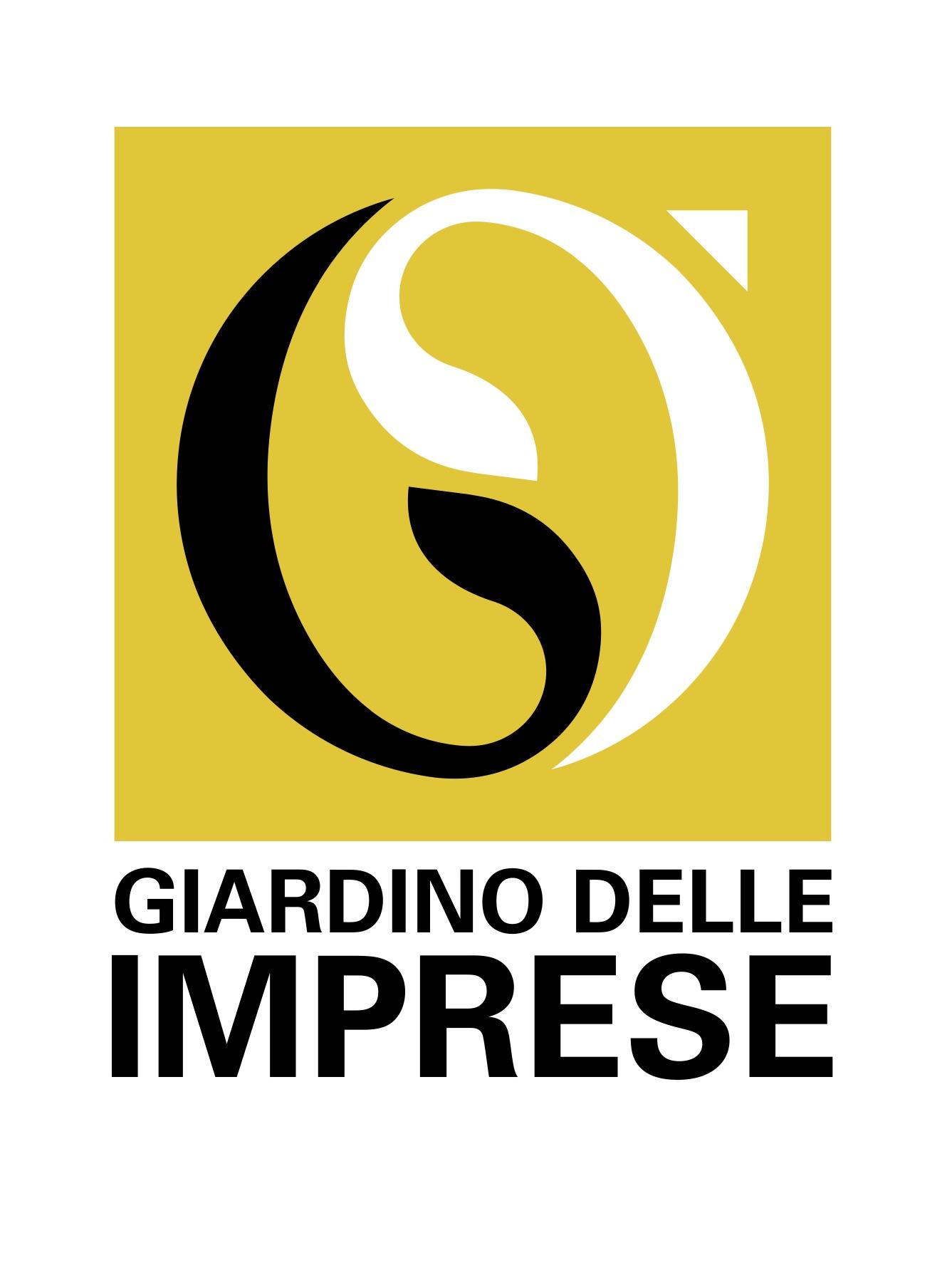 Logo_GIARDINO-DELLE-IMPRESE_PANTONE_110_C
